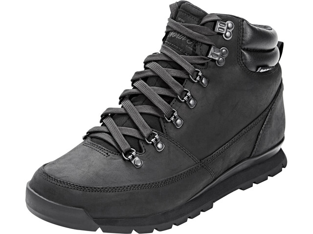 642f9bb73 The North Face Back-To-Berkeley Redux Leather Shoes Men tnf black